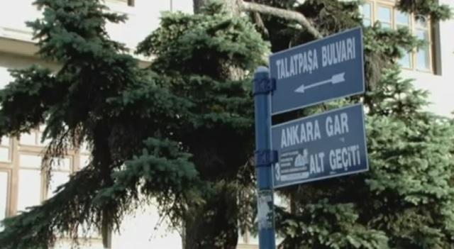 Strassenschilder, benannt nach türkischen Massenmörder