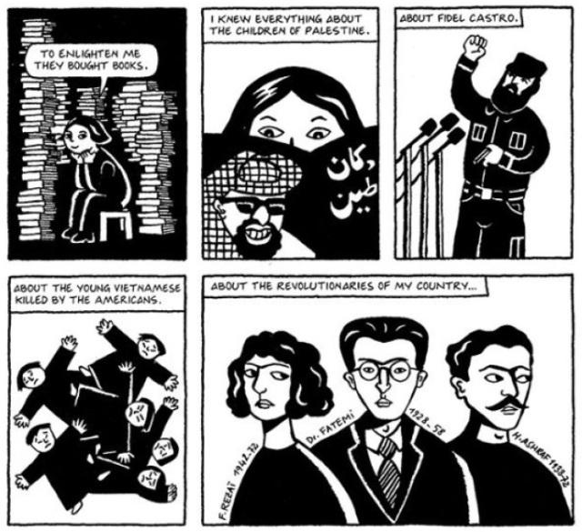 Marjane Satrapis Heroes