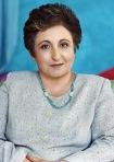 Shirin Ebadi pose