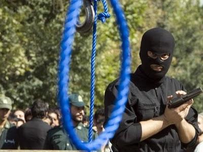 iranian hanging