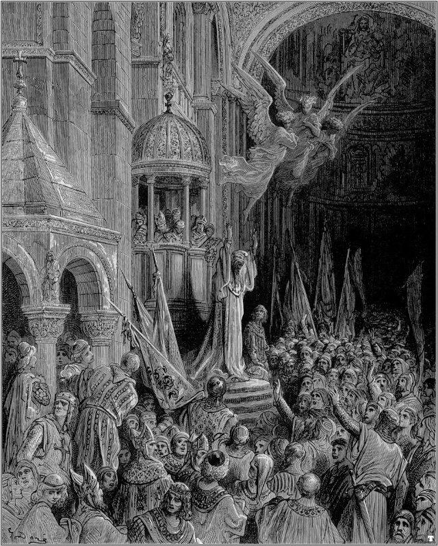 Gustave dore - crusades dandolo preaching the crusade