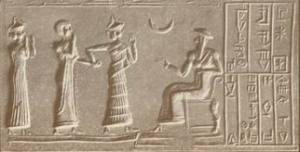 Pre-islamic moon-god