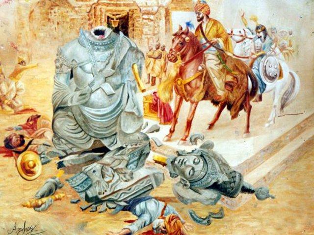 mehmood-ghaznavi-breaking-the-somnaths-mandir-azhar-abbas