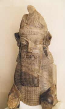 "An ancient Zoroastrian sculpture of ""Daevas"", demonic creatures as per the Zoroastrian Gathas."