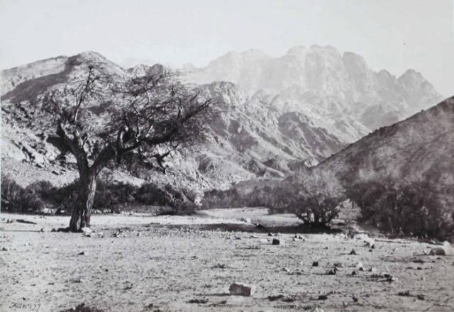 Francis Frith, Mount Serbal