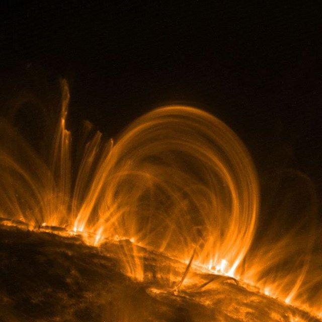 Quelle des Lebens und des Guten, die Sonne. Public Domain Lizenz: NASA