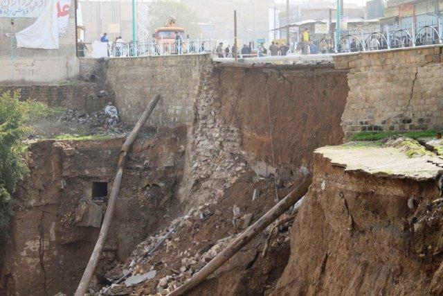 Zerstörte Gargar Brücke
