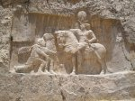 The triumph of Shapur I over the Roman Emperor Valerian, and Philip the Arab by Fabienkhan