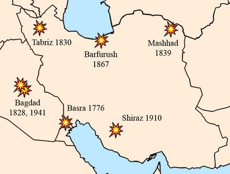 Pogrome an Juden in Iran