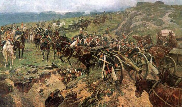 Menschenbrücke - Russisch Persischer Krieg 1804-13 -18