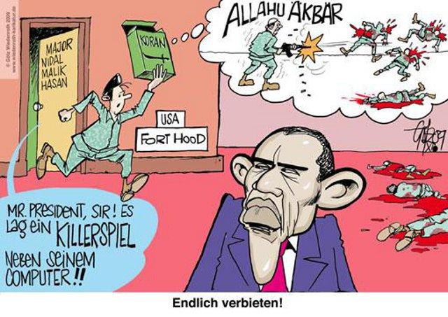 Koran ist ein Killerspiel
