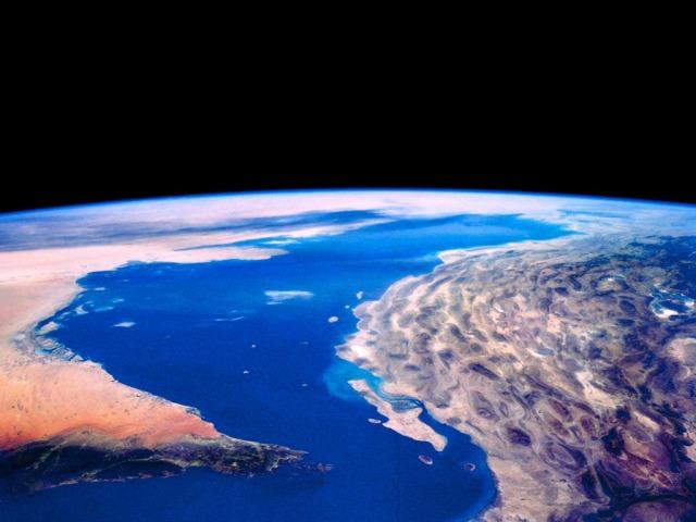 Satellitenaufnahme - Persischer Golf