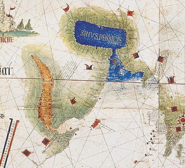 Portugiesische Karte aus dem Jahre 1502