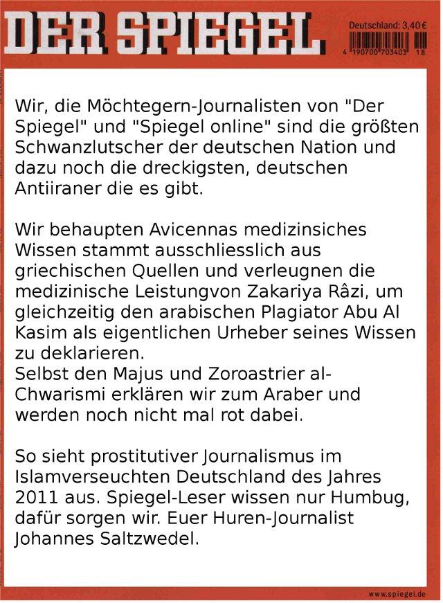 Huren-Journalismus - Der Spiegel