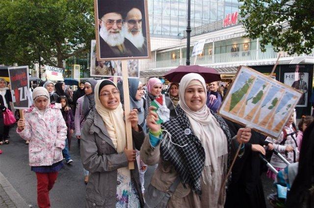 Al Quds tag zum Gedenken an Klomneini aka. Kirexarsavar (Foto: S. Krikowski)
