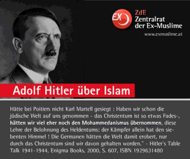 Hitler Islam Zitat