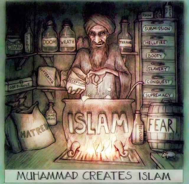 muhammad creates islam