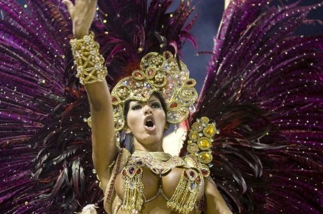 Brazilian Carneval in Rio