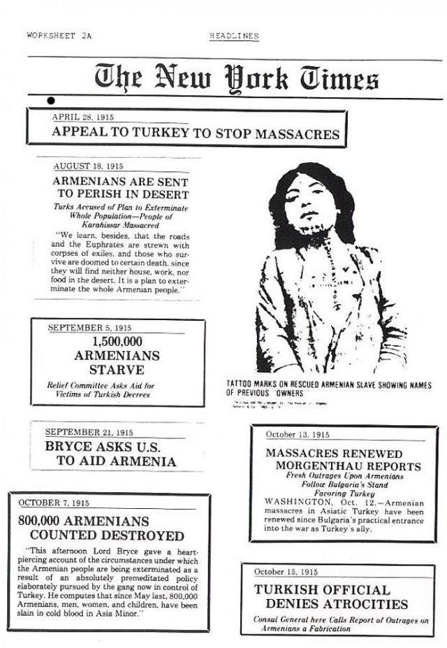 """Turkish crimes against armenians - Bildunterschirft oben rechts: """"Tätowierungen auf der Haut einer befreiten armenischen Sklavin zeigen die Namen der früheren türkischen Besitzer"""""""