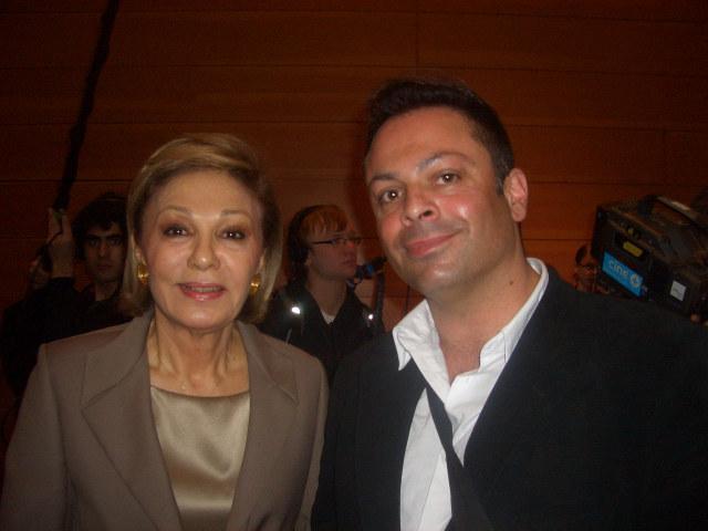Ramon Schack mit Turko-Farah