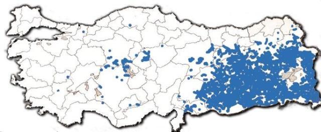 Kurdische Ortschaften, die von Torks gewaltsam umbenannt wurden by Proudbolsahye