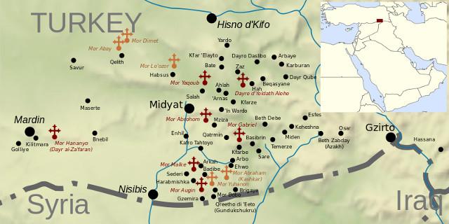 Aramäische Ortschaften, die von Torks gewaltsam umbenannt wurdenn by  Rafy