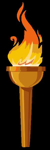 Torch of Liberty - Author: Antonu - In den Heiligtümern des Mithraskultes stellte die nach oben gerichtete Fackel den Sonnenaufgang dar, die nach unten gerichtete Fackel den Sonnenuntergang.