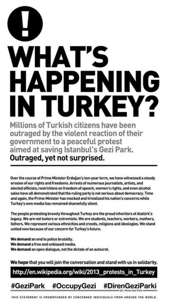 Solidarity with the people in turkish occupied territories