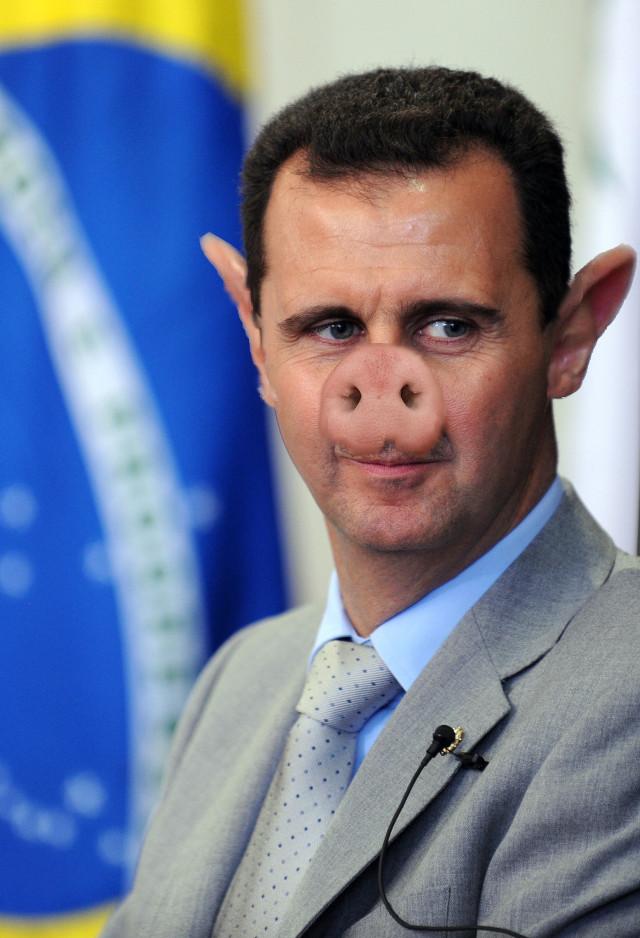 Bashar_al-Assad_Diktatorenschwein