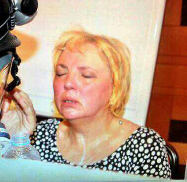 Claudia weint um die türkische Demokratie