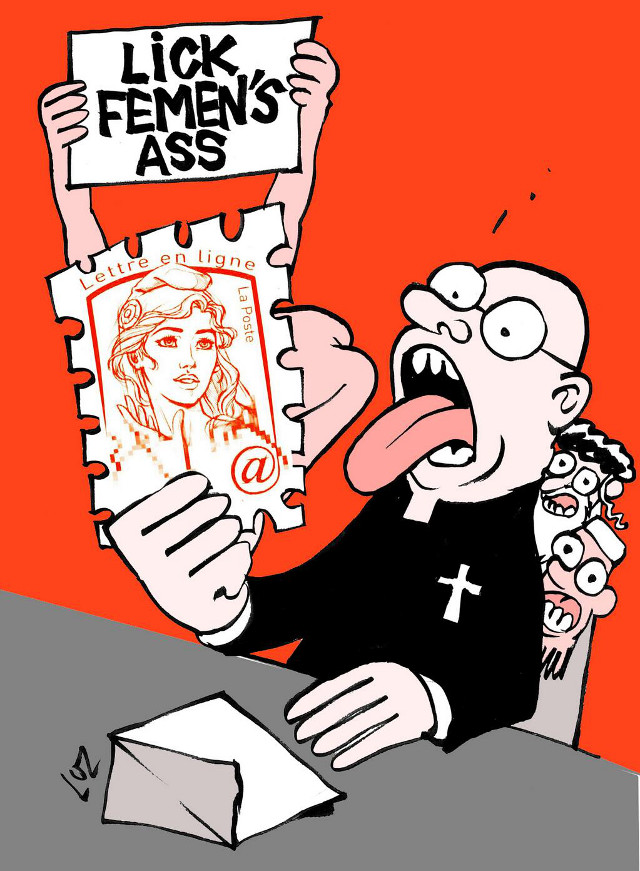 The Church and Mosques Lick femens ass