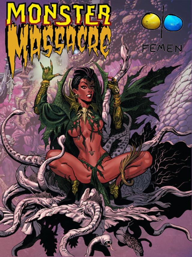 Femen Monster Massacre