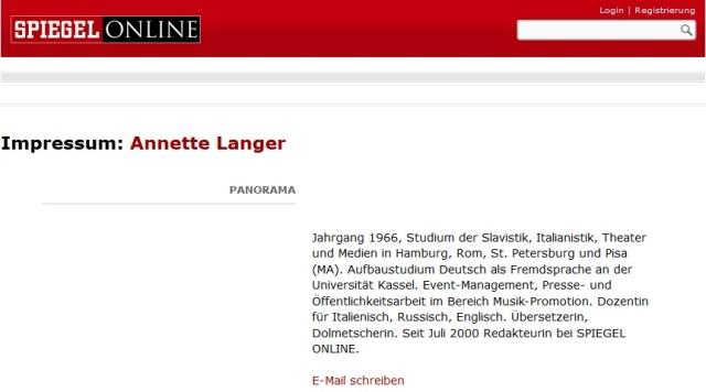 Annette Langer kontaktieren