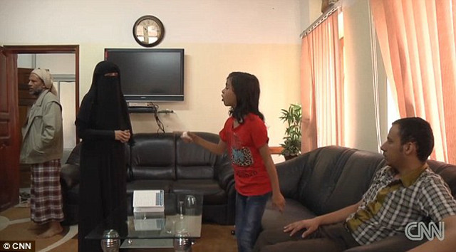 Eltern von Nada Al-Ahdal
