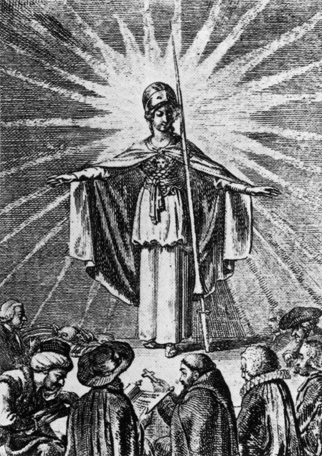 Die Göttin Minerva als Symbol der europäischen und globalen Aufklärung