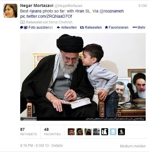 Negar Mortazavi Tweet