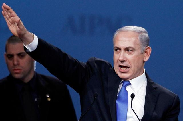 The European zeigt Netanyahu als Hitler