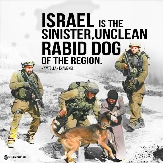 Rabid Dog Khamenei