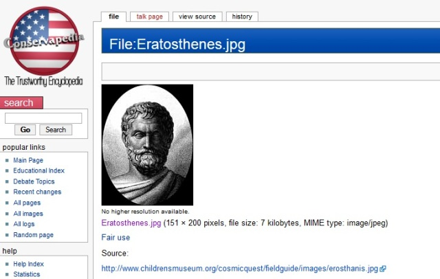 Fake Eratosthenes