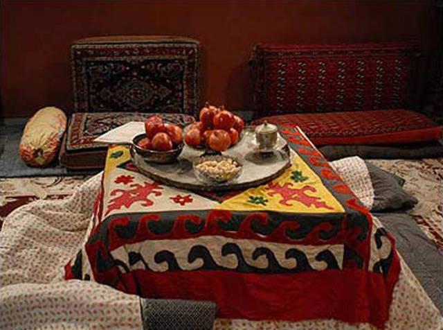 shabe cheleh das persische weihnachtsfest tangsir 2577. Black Bedroom Furniture Sets. Home Design Ideas