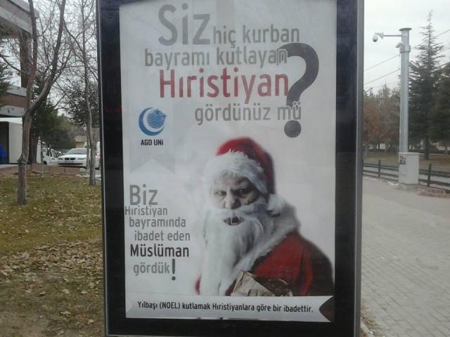 Türken lieben den Weihnachtsmann