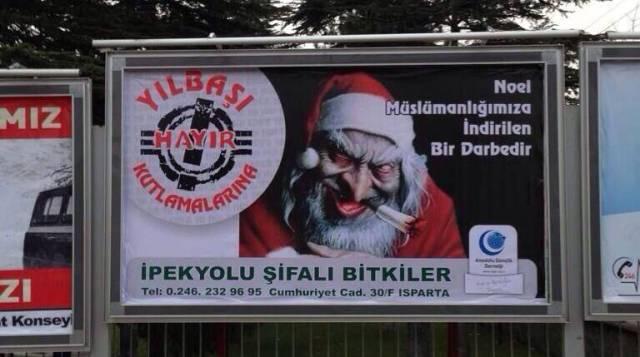 Weihnachten soll die muslimische Welt zerstören