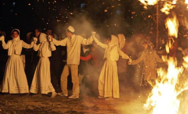 Jashne Sadeh Celebration