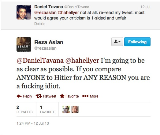 Reza Aslan talking shit