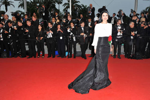 Leila Hatami in Cannes