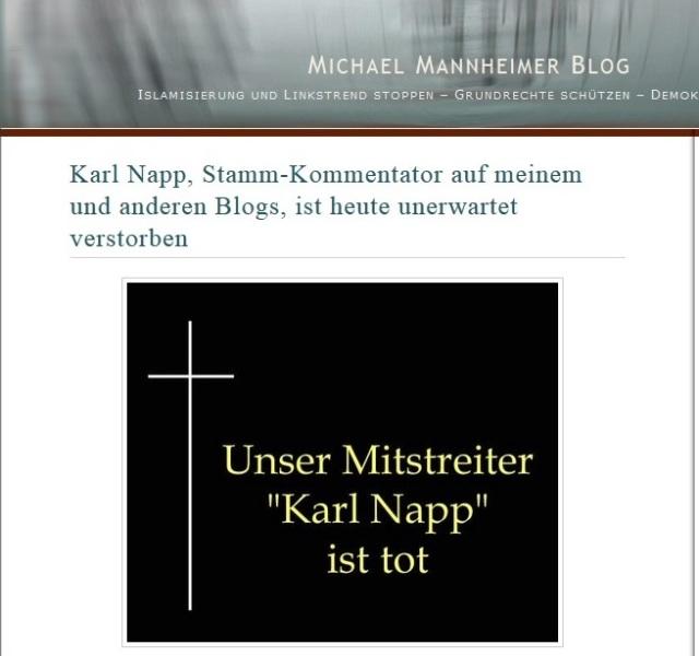 Michael Mannheimer lügt