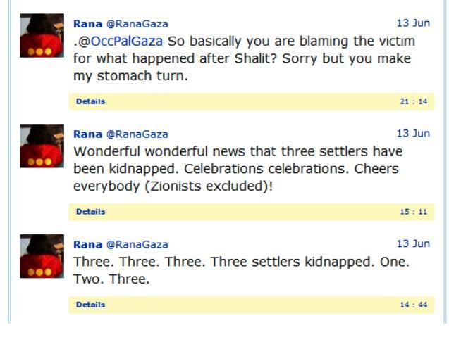 Rana Baker Tweet