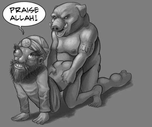 Allah fucks Muhammed
