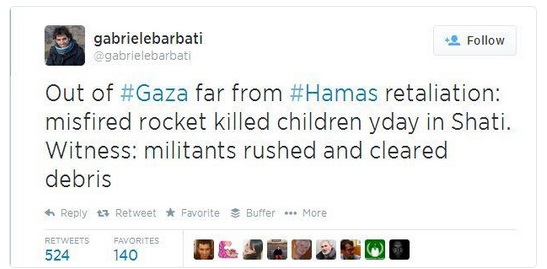 Hamas kills childrens