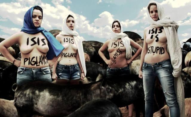 ISIS pigs